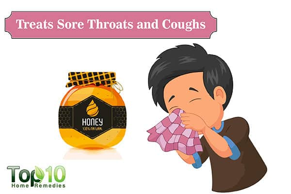 honey for sore throat and cough