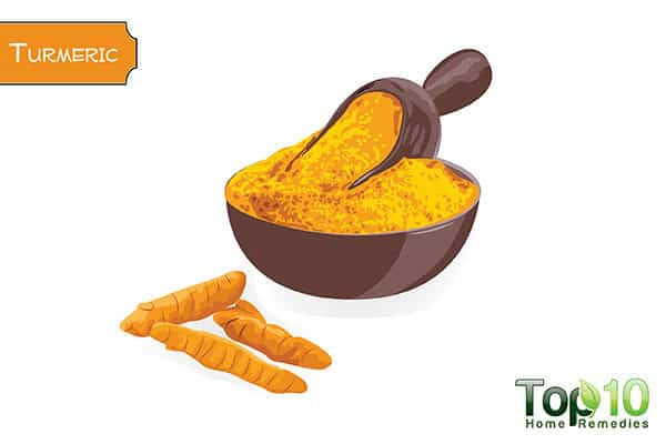 turmeric to remove tooth stains