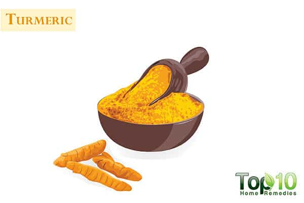 turmeric for dark knuckles