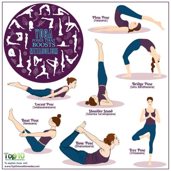yoga poses that boost metabolism
