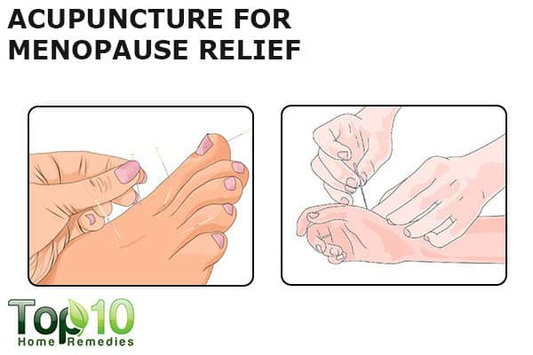 acupuncture for relief from menopausal symptoms