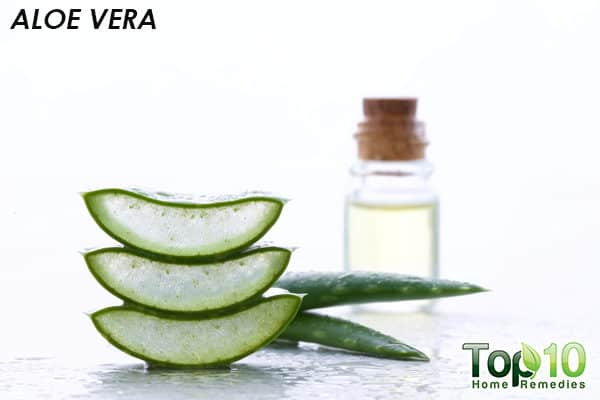 aloe vera to relieve xerosis