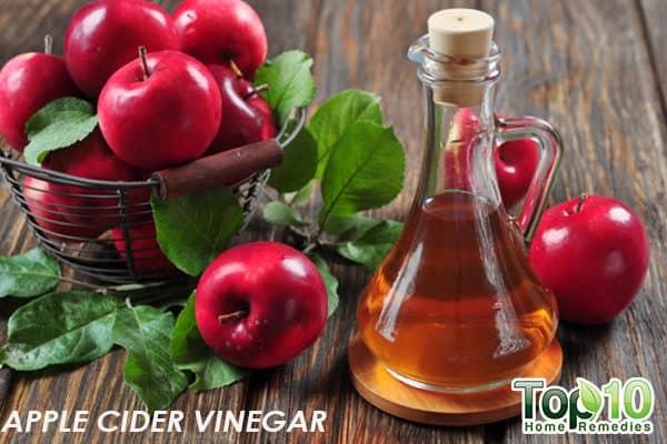 apple cider vinegar to treat xerosis