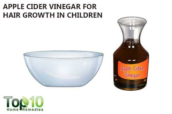 apple cider vinegar for hair loss in children