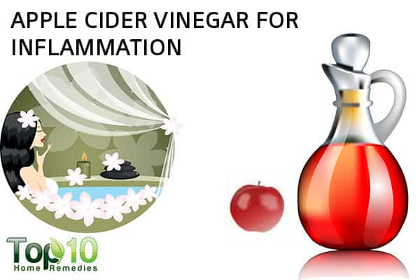 apple cider vinegar to reduce inflammation