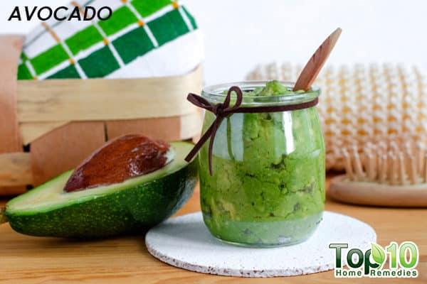 avocado mask for xerosis