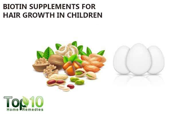 biotin supplements to help children's hair grow faster