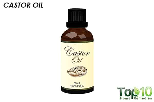 castor oil to reduce lipoma