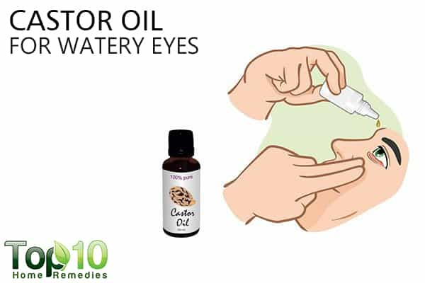 how to help watery eyes