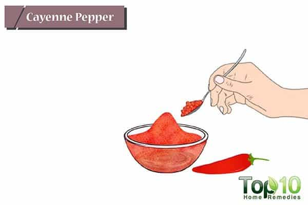 cayenne pepper for ulcers