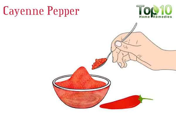 cayenne pepper for sinus drainage
