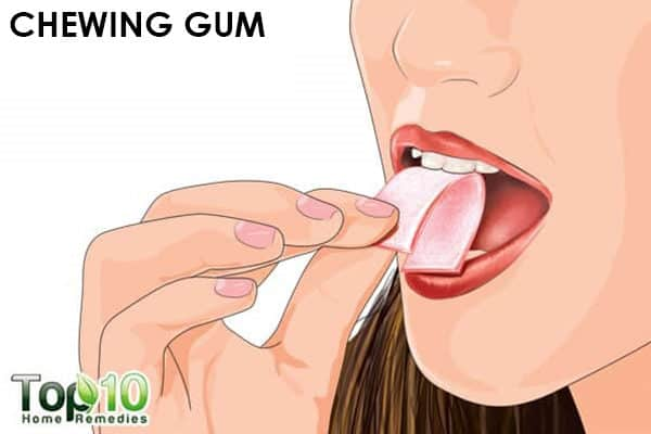 chewing gum to ease acidity during pregnancy