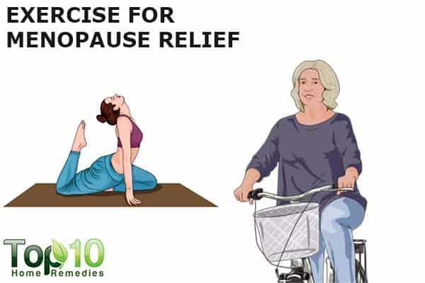 exercise for menopausal symptoms