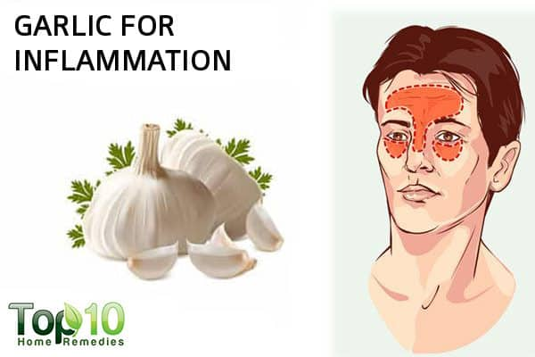 garlic for inflammation