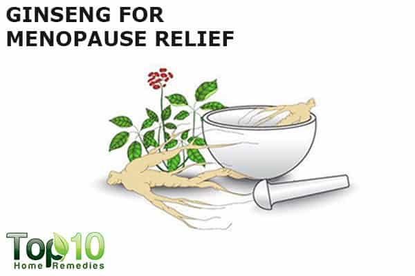 ginseng for menopause