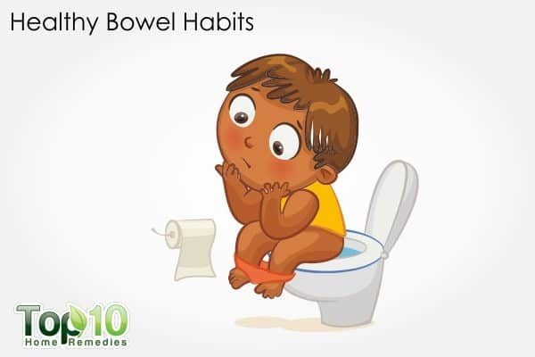 healthy bwel habits in children to prevent and treat constipation