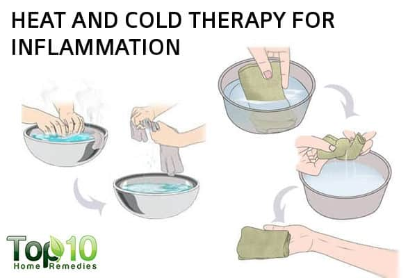 hot and cold therapy for inflammation
