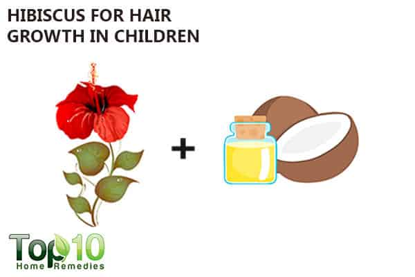 hibiscus for hair growth in kids