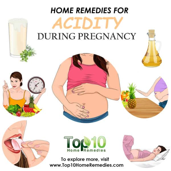 home remedies for acidity during pregnancy