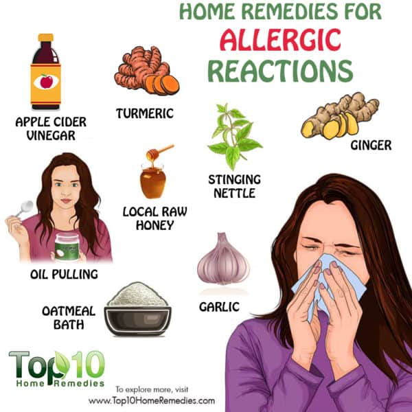 Dwelling cures for allergic reactions health tips for Allergic reaction to hot tub