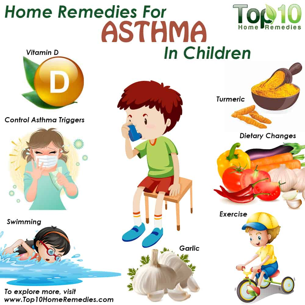 Home Remedies For Asthma In Children Top 10 Home Remedies