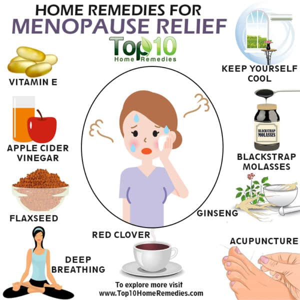 home remedies for menopause relief