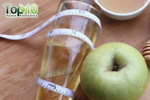 lose abdominal fat with apple cider vinegar