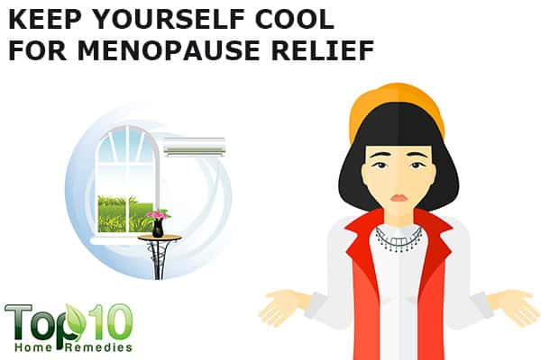 keep yourself cool to bet menopausal symptoms