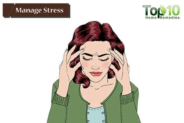 manage stress to reduce ulcers