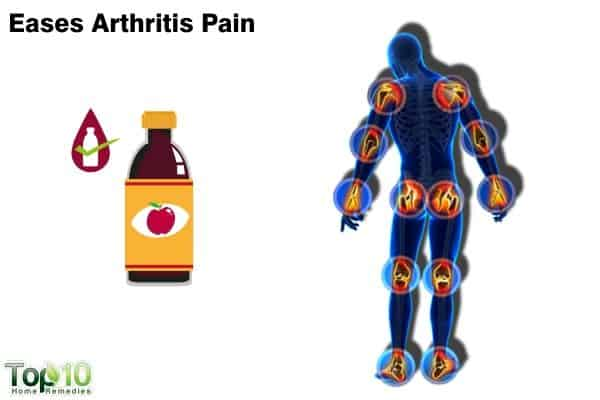 apple cider vinegar relieves arthritis pain