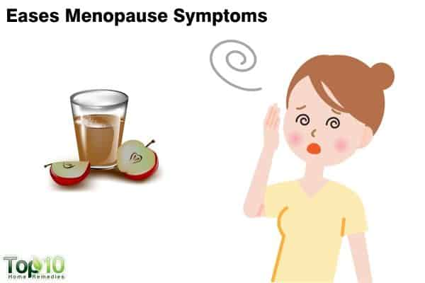 apple cider vinegar to control menopause symptoms