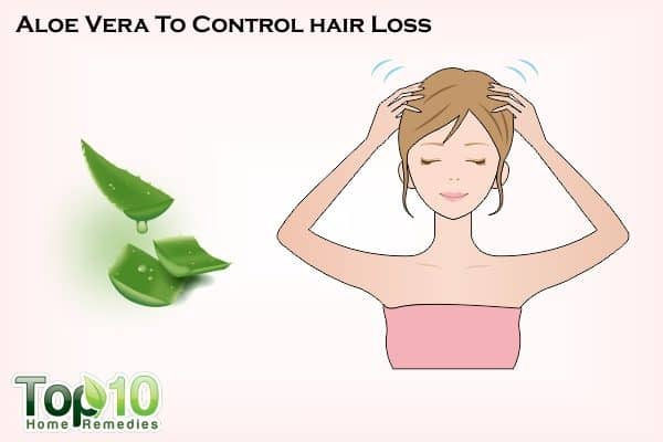 aloe vera to control hair loss