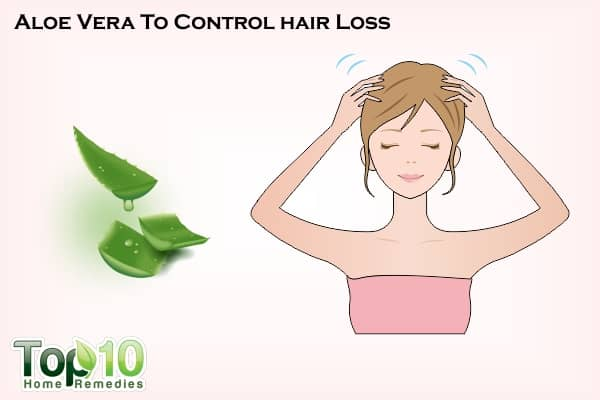 how to use aloe vera for hair fall control