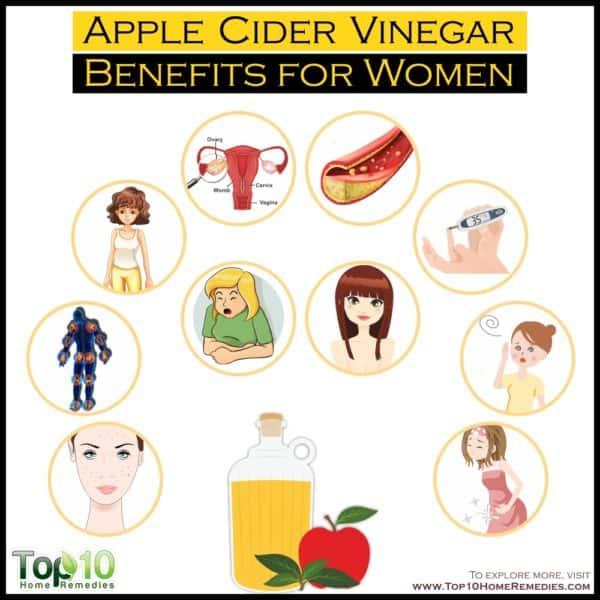 apple cider vinegar benefits for women