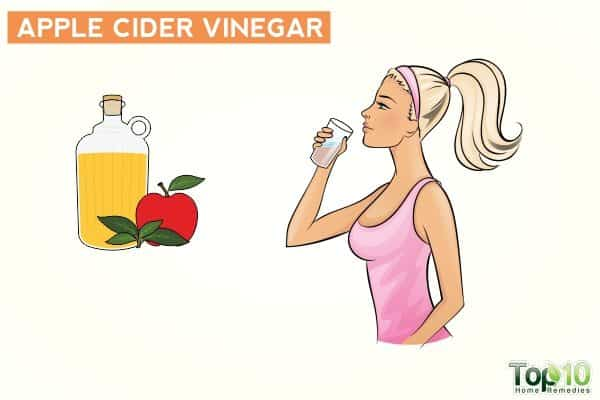 apple cider vinegar for uncontrolled urination