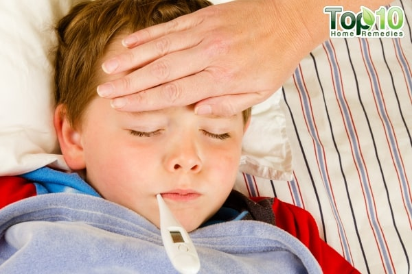 home remedies for fever in kids