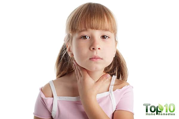 sore throat in children