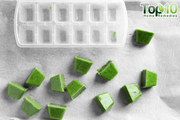 know the beauty tips of ice cubes
