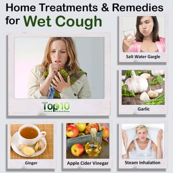 Treating a Wet Cough at Home