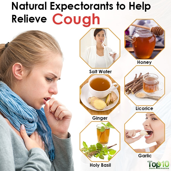 natural expectorants to help relieve cough