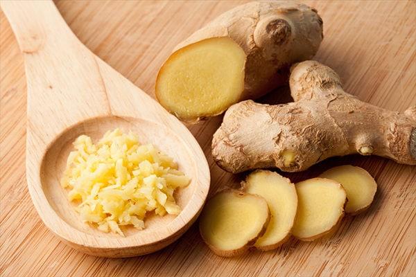 Ginger to treat enlarged adenoids in children