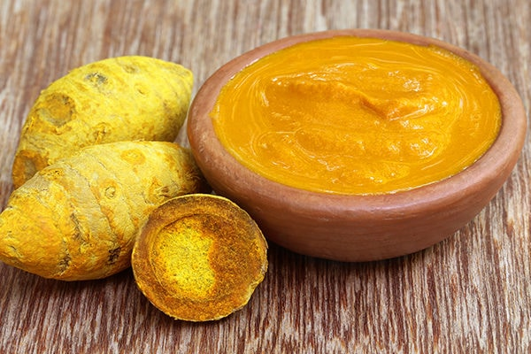turmeric to treat enlarged adenoids in children