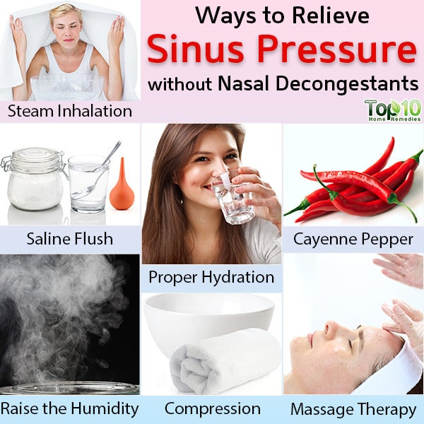 Home Remedies to relieve sinus pressure