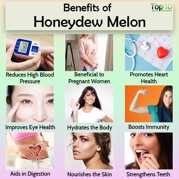 honeydew melon health benefits