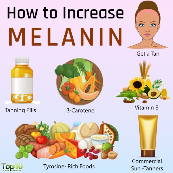 increase melanin