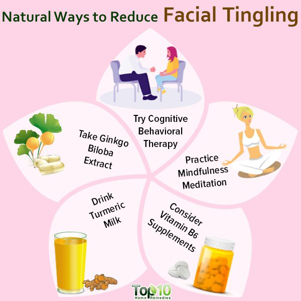 treat facial tingling