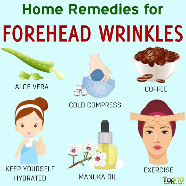 home remedies for forehead wrinkles