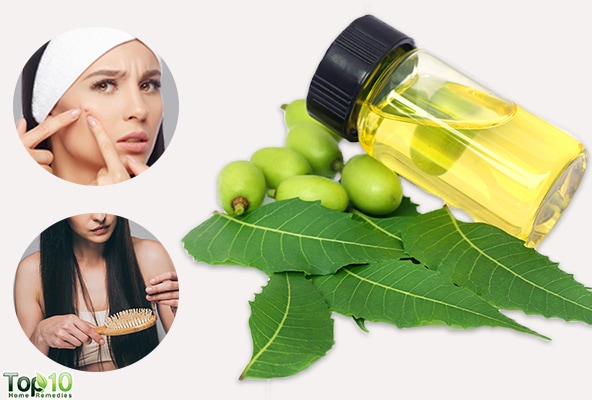 neem oil benefits for skin and hair