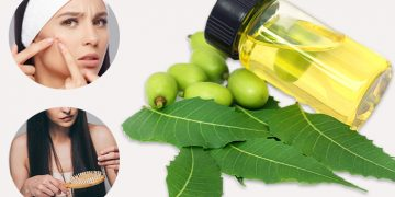 Neem Oil for hair and skin